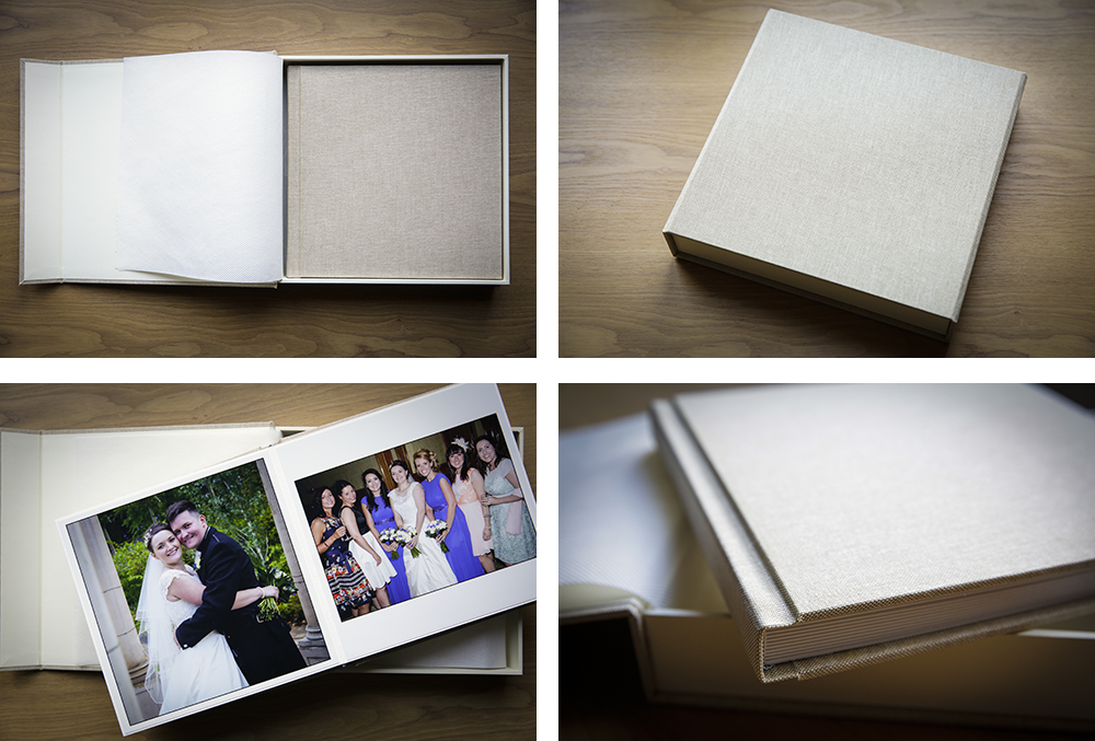 Storybook Style Parent's Album. Wedding Albums for Parents.