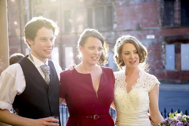 Glasgow Wedding Photographer Natural wedding photographs at St A