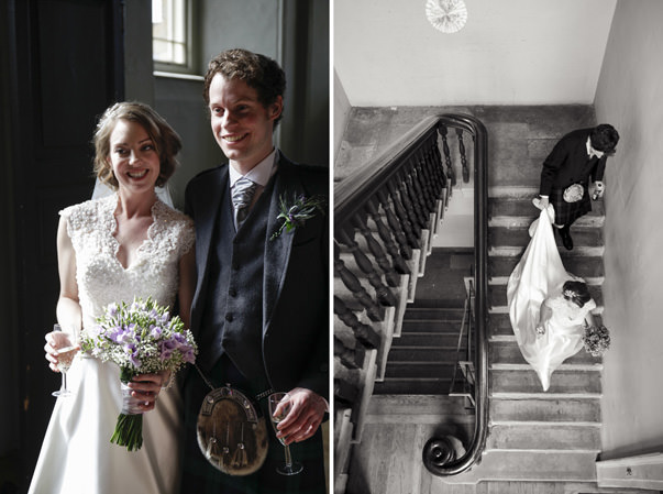 Glasgow Wedding Photographer Natural wedding photographs at St A