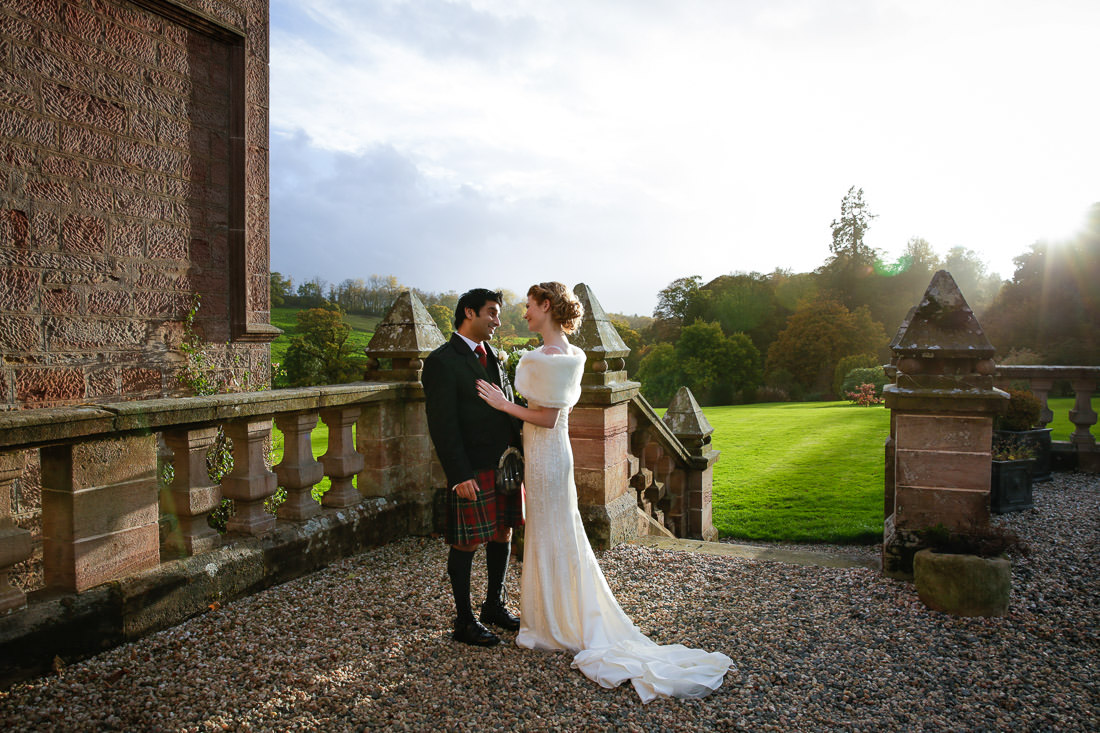 Sorn Castle Wedding Photograph