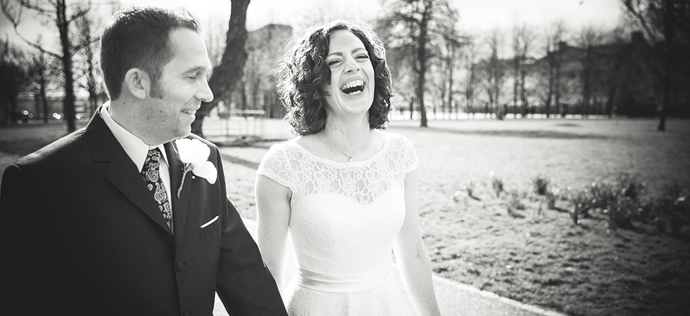 A Spring Wedding in Glasgow at St Andrews in the Square