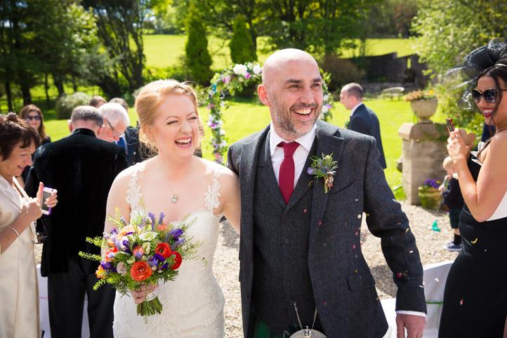 Scott and Julie's Summer Wedding at Balinakill