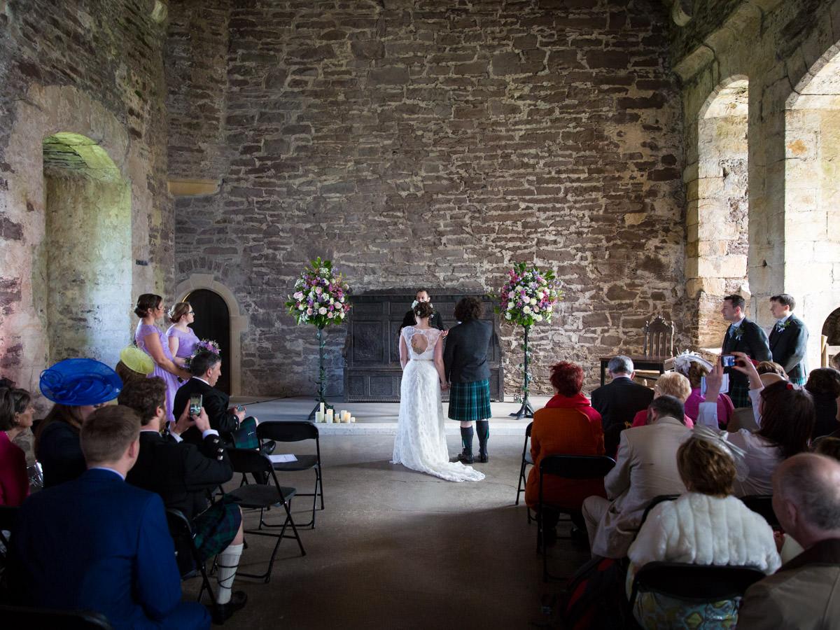 Done Castle Wedding Photographs