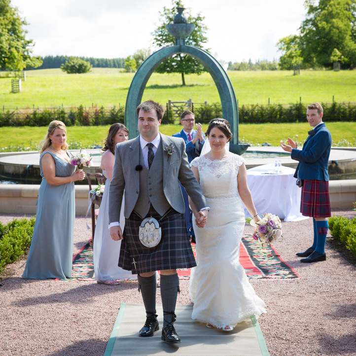 Wedding at Dumfries House