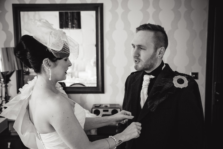 Natural Wedding Photographs at Glenbervie House Hotel by Trevor Wilson of Silver Photography