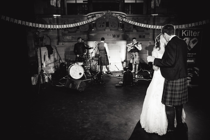 Wedding at Cottiers Theatre in Glasgow