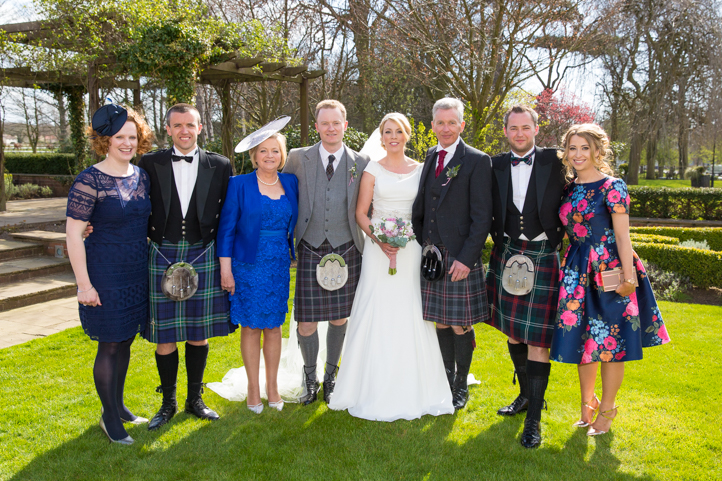 Ali and Claire's Wedding at the Western House Hotel in Ayr