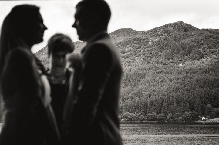Elopement Wedding Photographs Lodge on Loch Goil