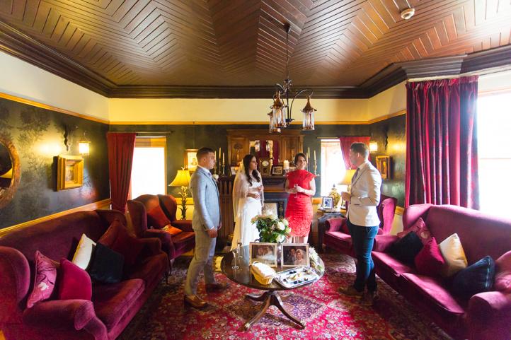 Elopement Wedding Photographs Lodge on Loch Goil