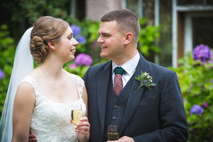 Roman Camp Wedding - Debbie and Graeme