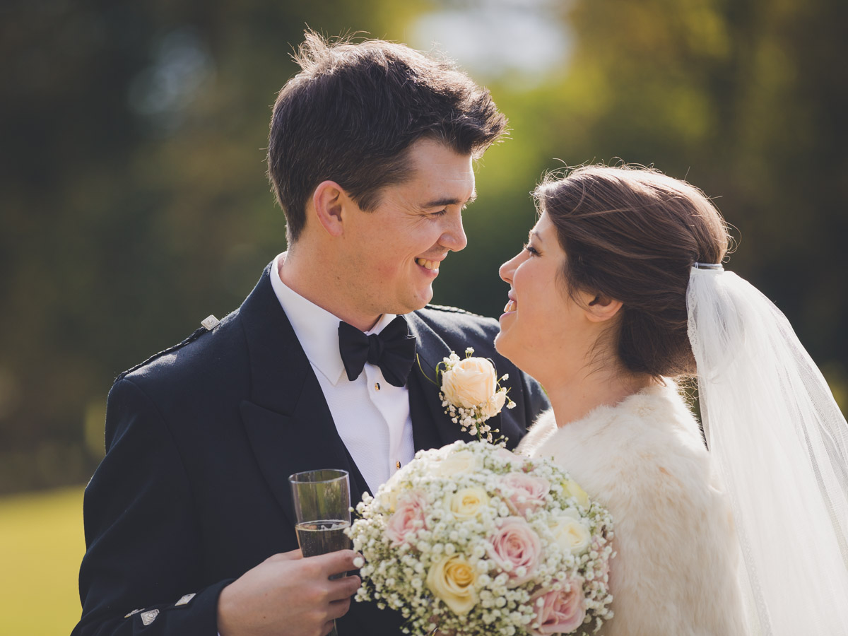 Rowallan Castle Wedding Photographs