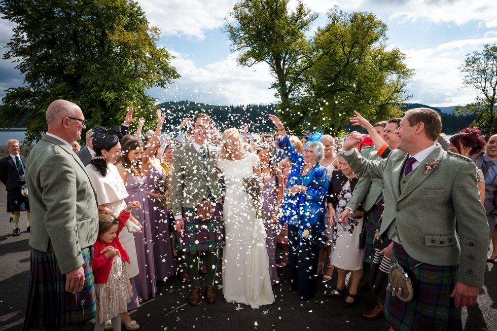 Altskeith Wedding Photographer - Laura and Euans wedding at Altskeith