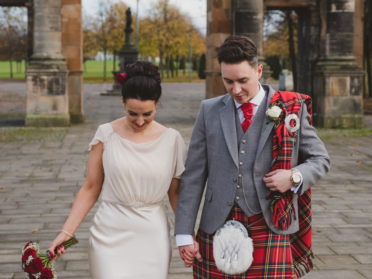 St Andrews in the Square Wedding Photographs - Glasgow Green