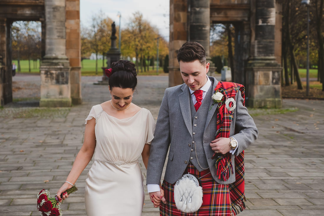 st andrews in the square wedding photograph