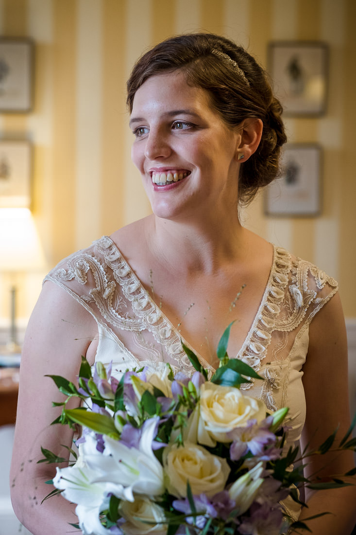 Culzean Castle Wedding Portrait of Bride