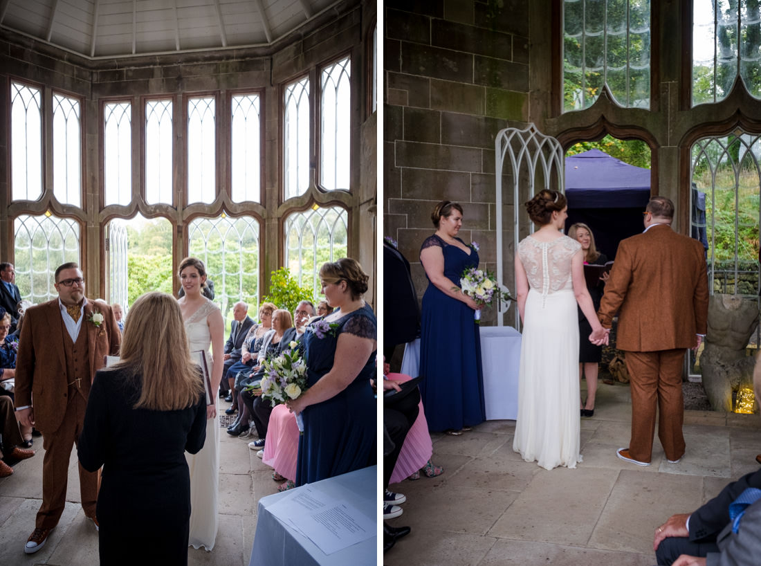 Culzean Castle Wedding in the Camellia House