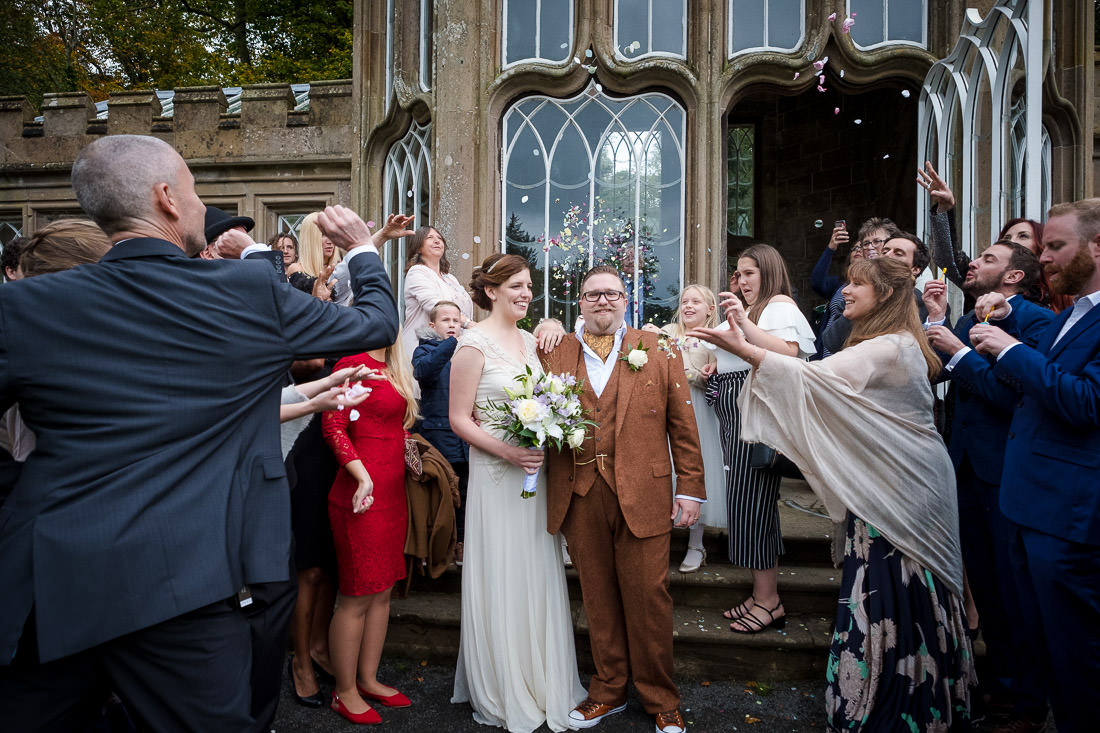 Culzean Castle Wedding Confetti