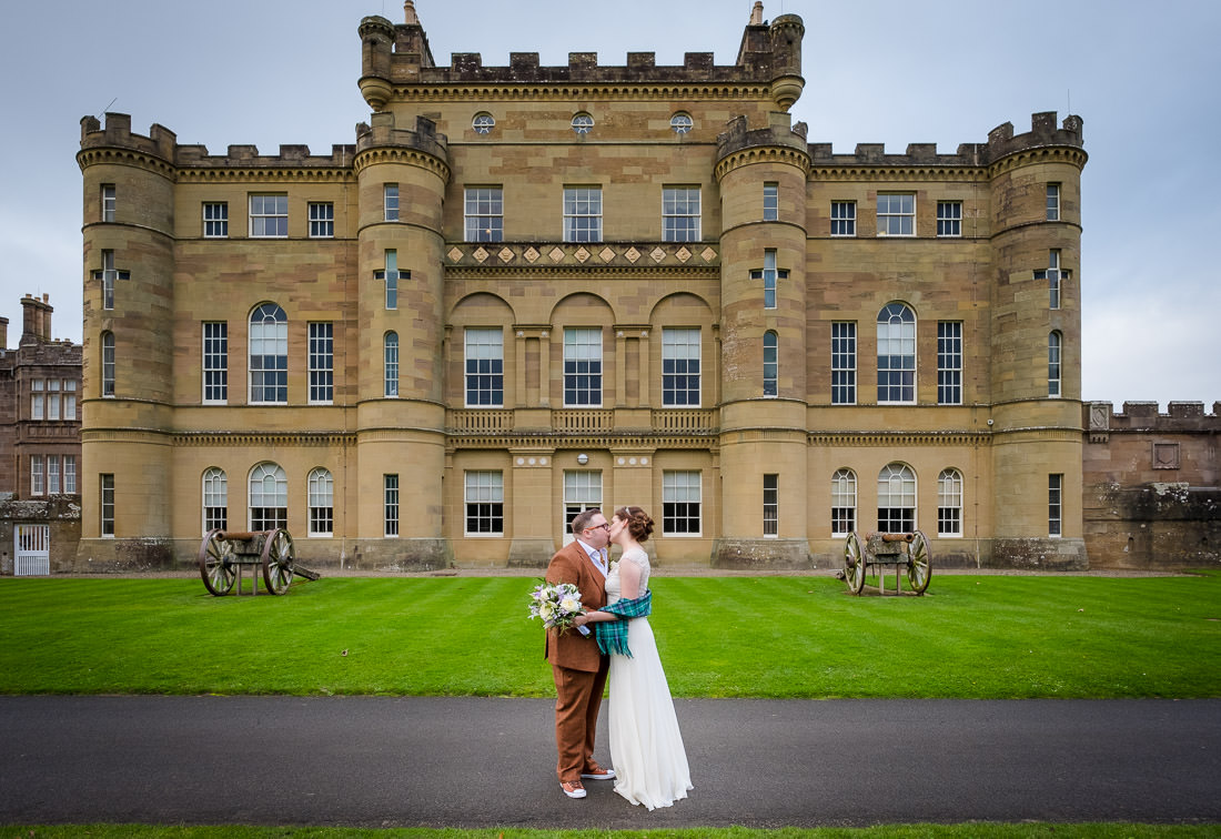 Culzean Castle Wedding Camellia House