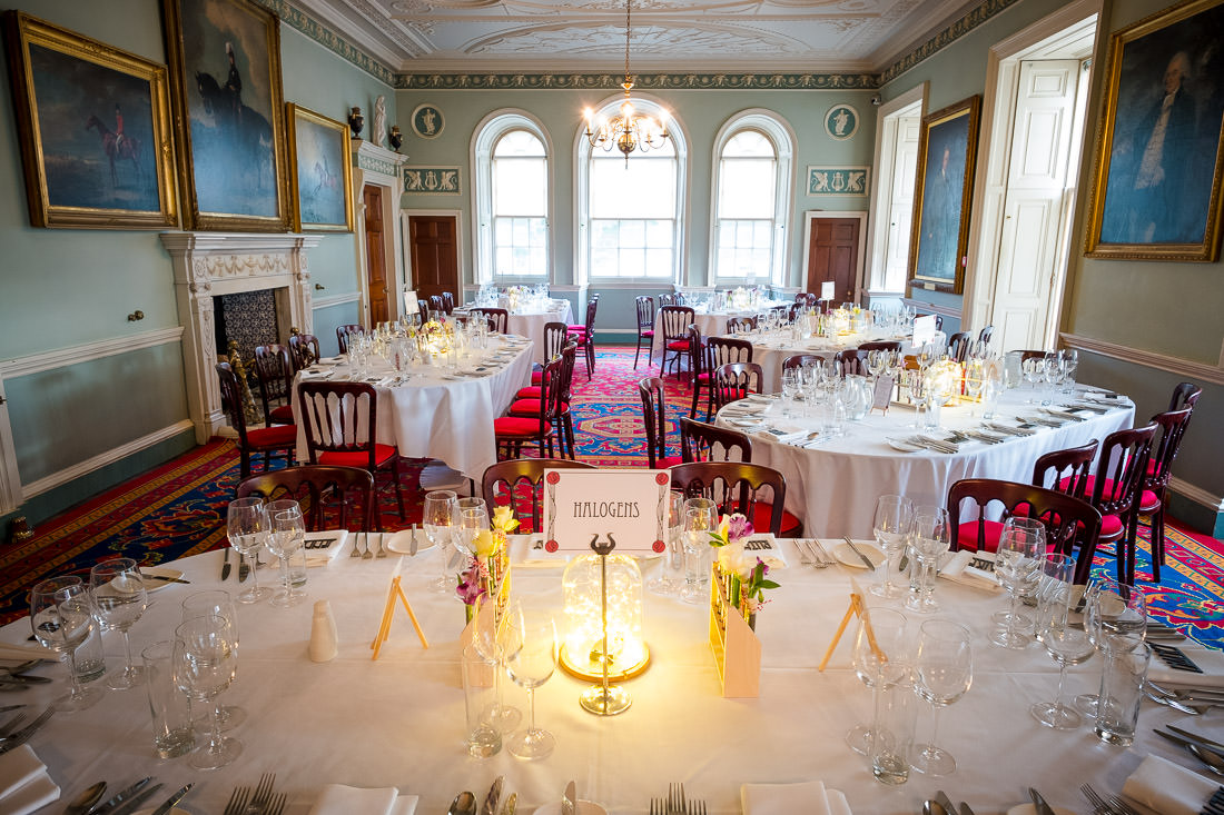 Culzean Castle Wedding Dining Room