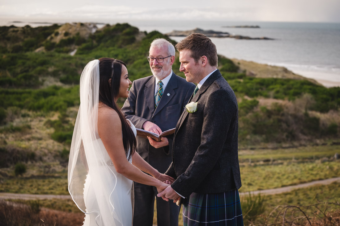Winter Elopement Arisaig