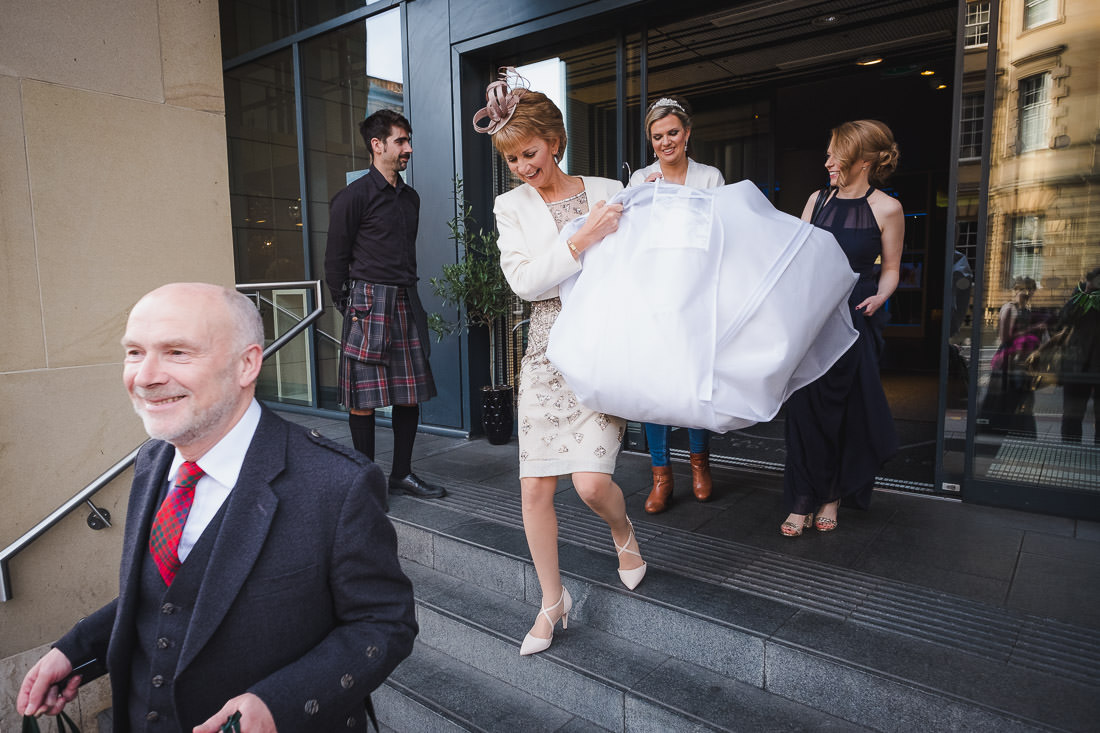 Signet Library Wedding in Edinburgh