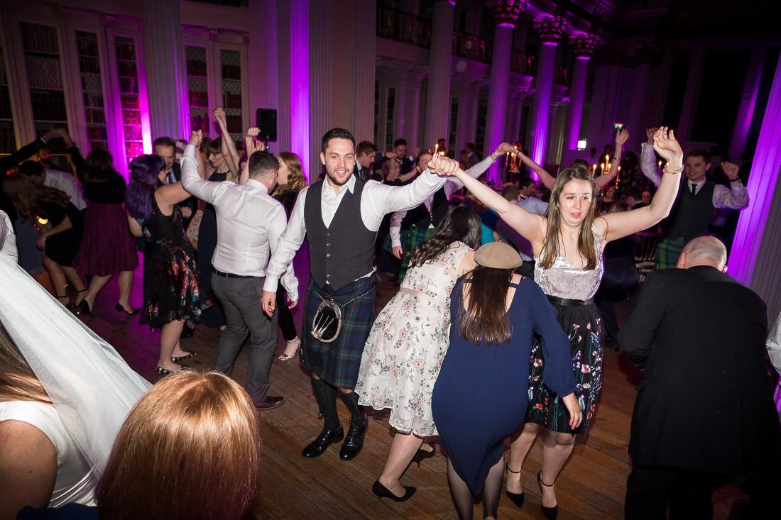Signet Library Wedding in Edinburgh