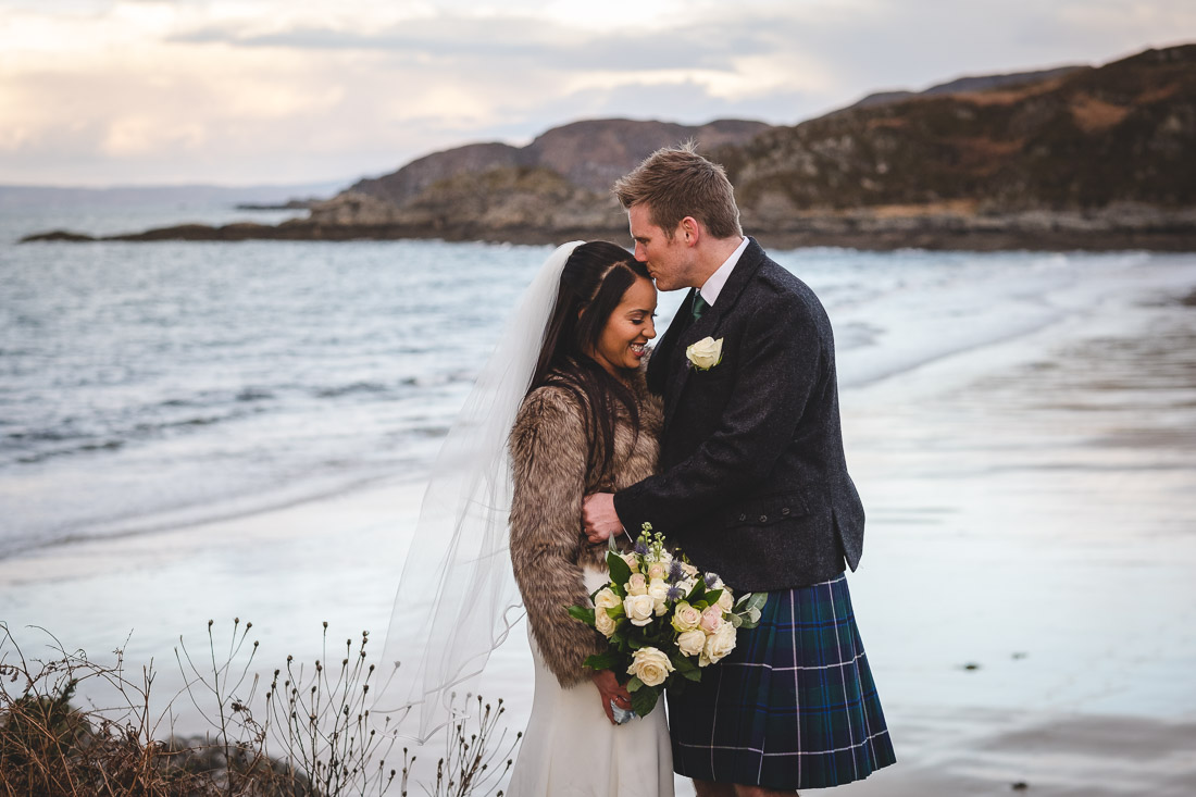 Arisaig Elopement Photographs Elopement Photographer in Scotland
