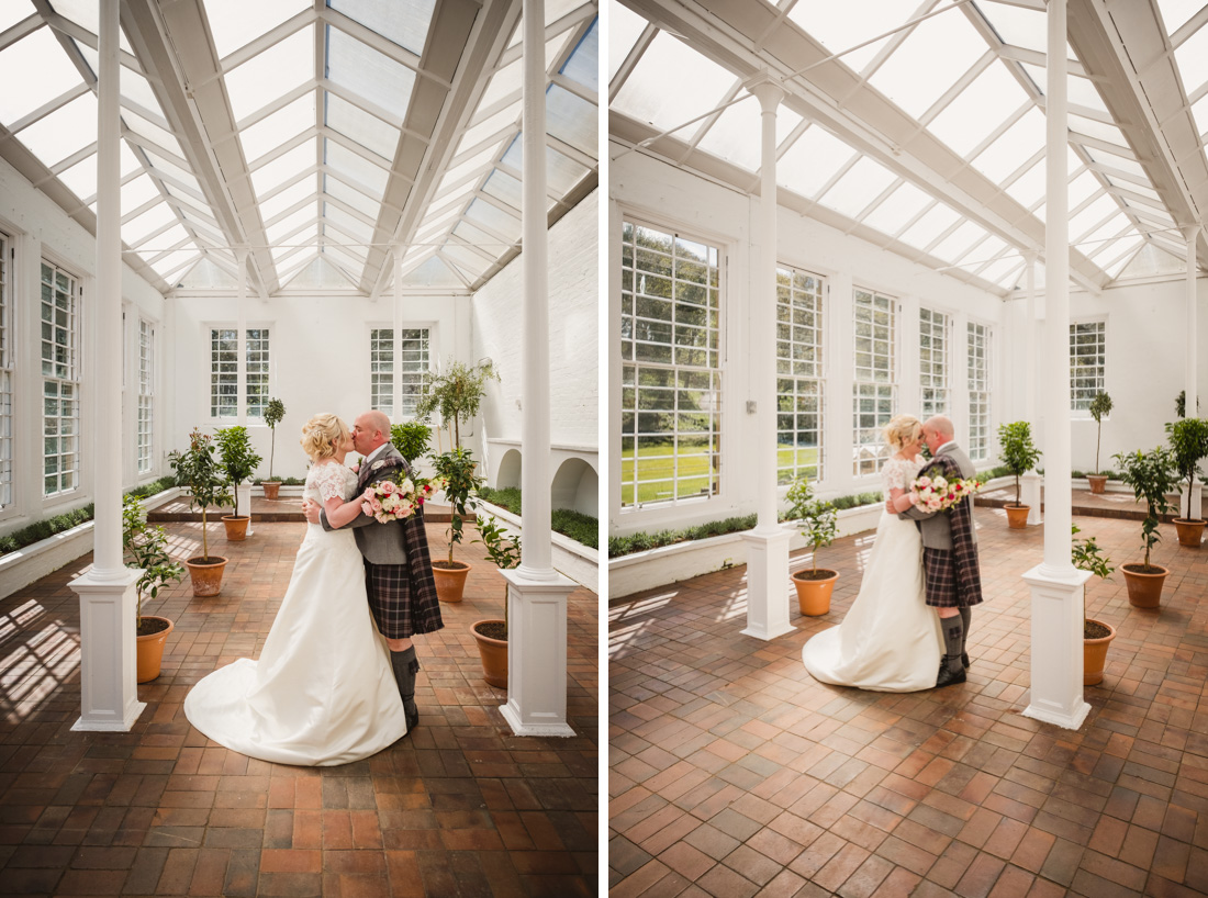 Culzean Castle Wedding Photographs Orangery