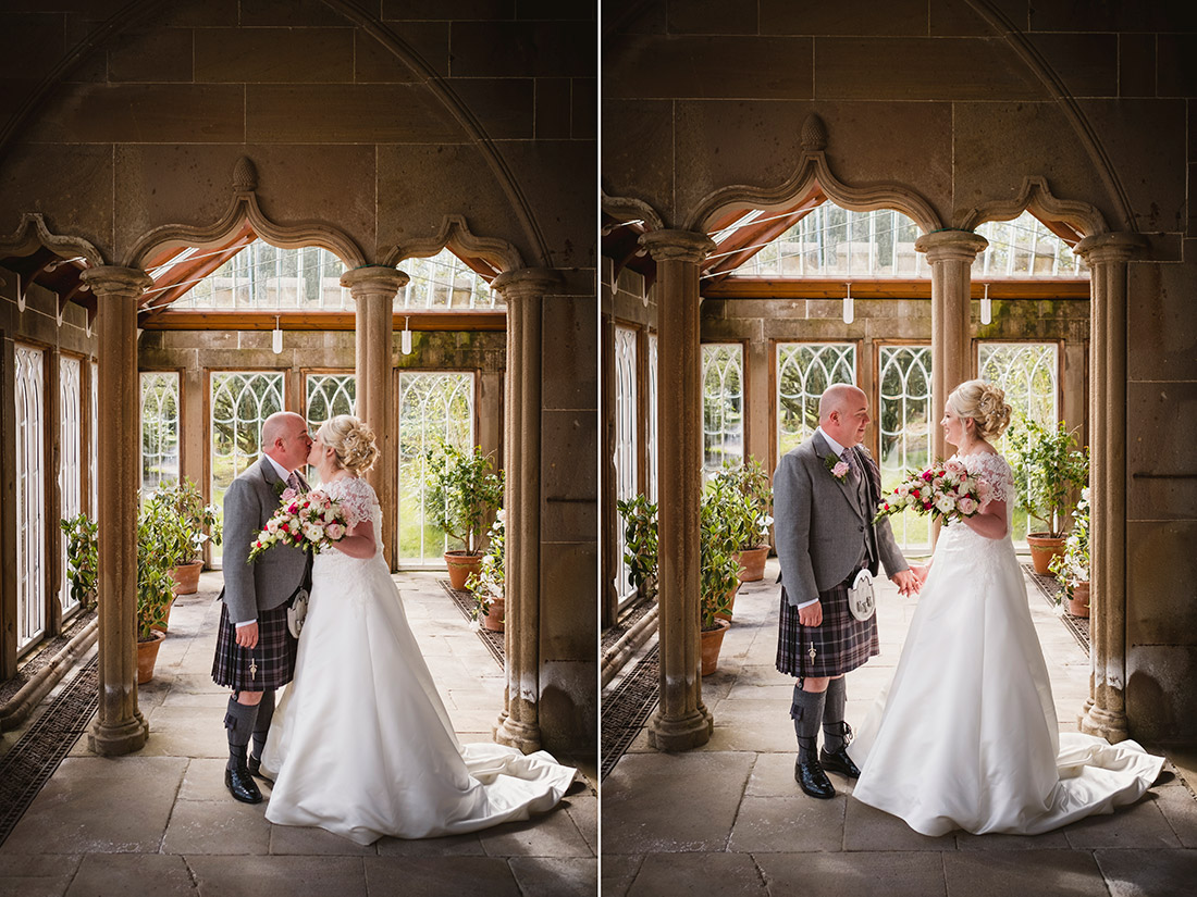Elopement at Culzean Castle Camelia House