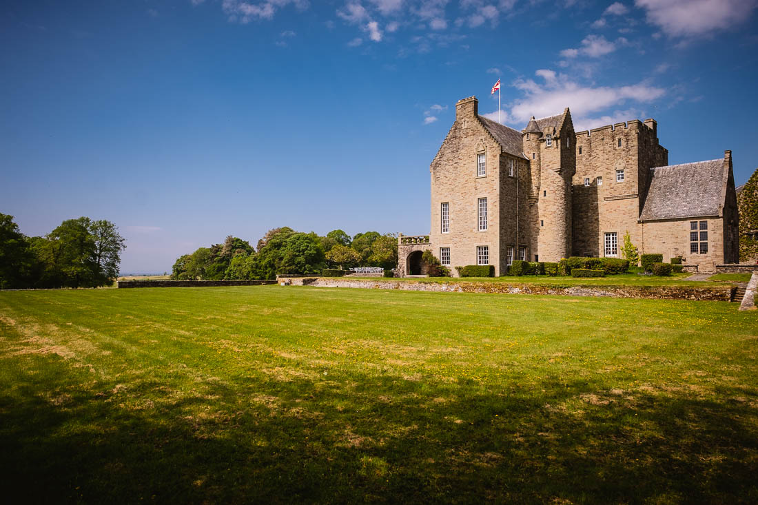 Wedding Rowallan Castle Scotland