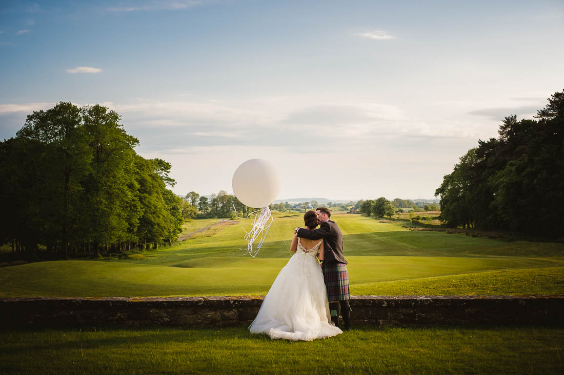 Wedding at Rowallan Castle