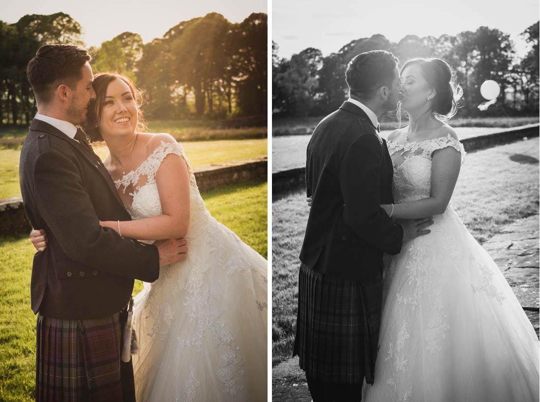 Wedding Rowallan Castle Scotland