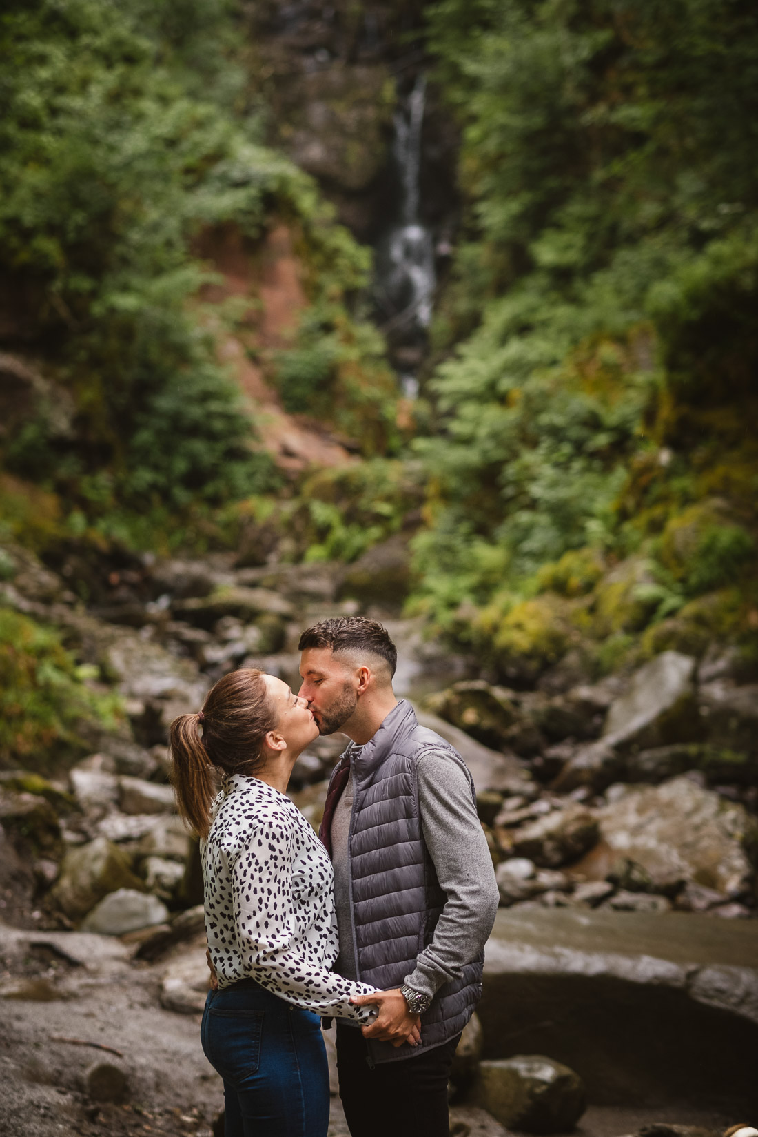 Aberfoyle Adventure Engagement Photoshoot