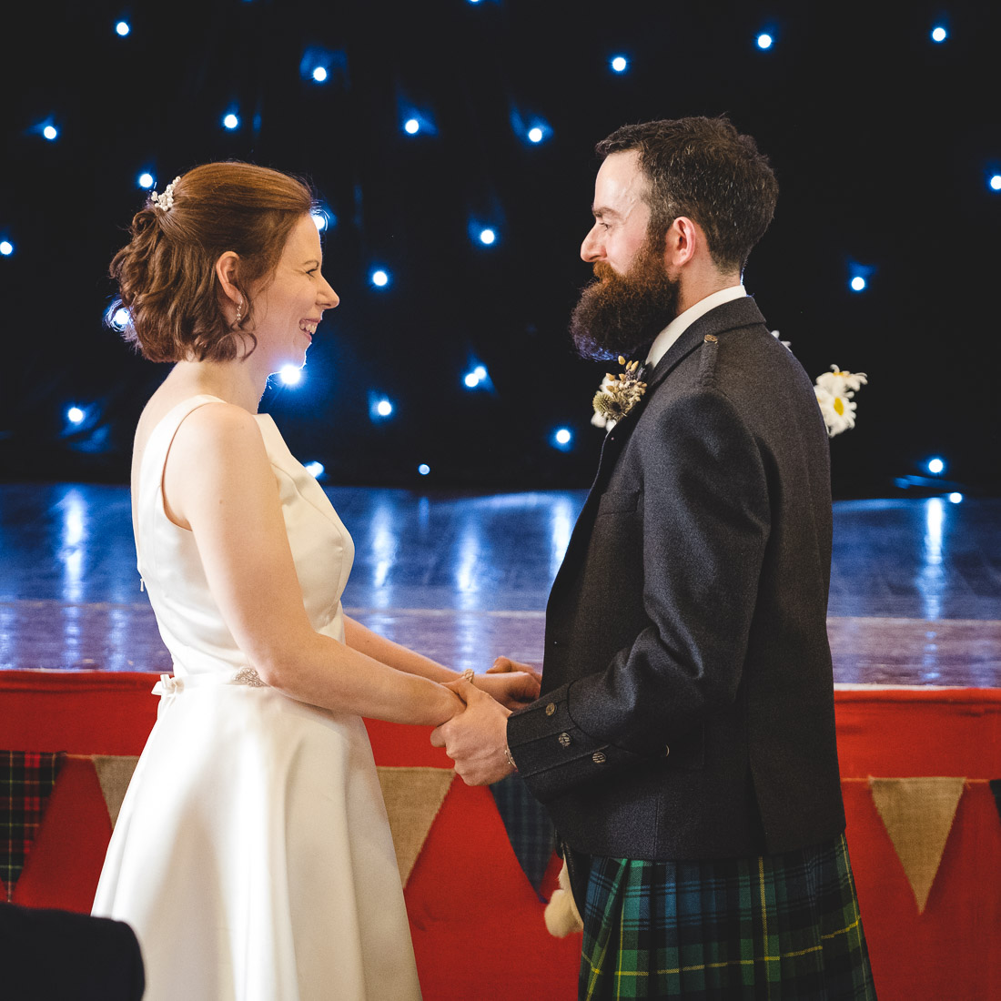Crail Town Hall Wedding