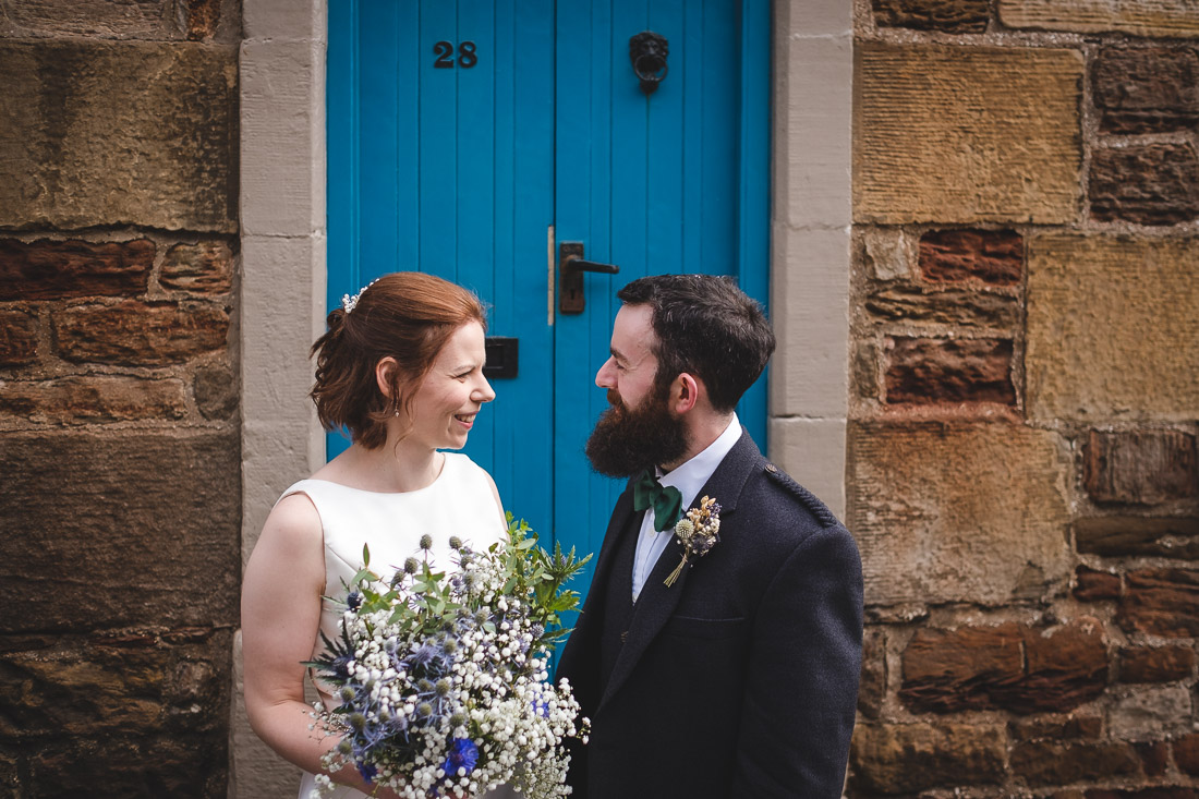 Crail Harbour Wedding