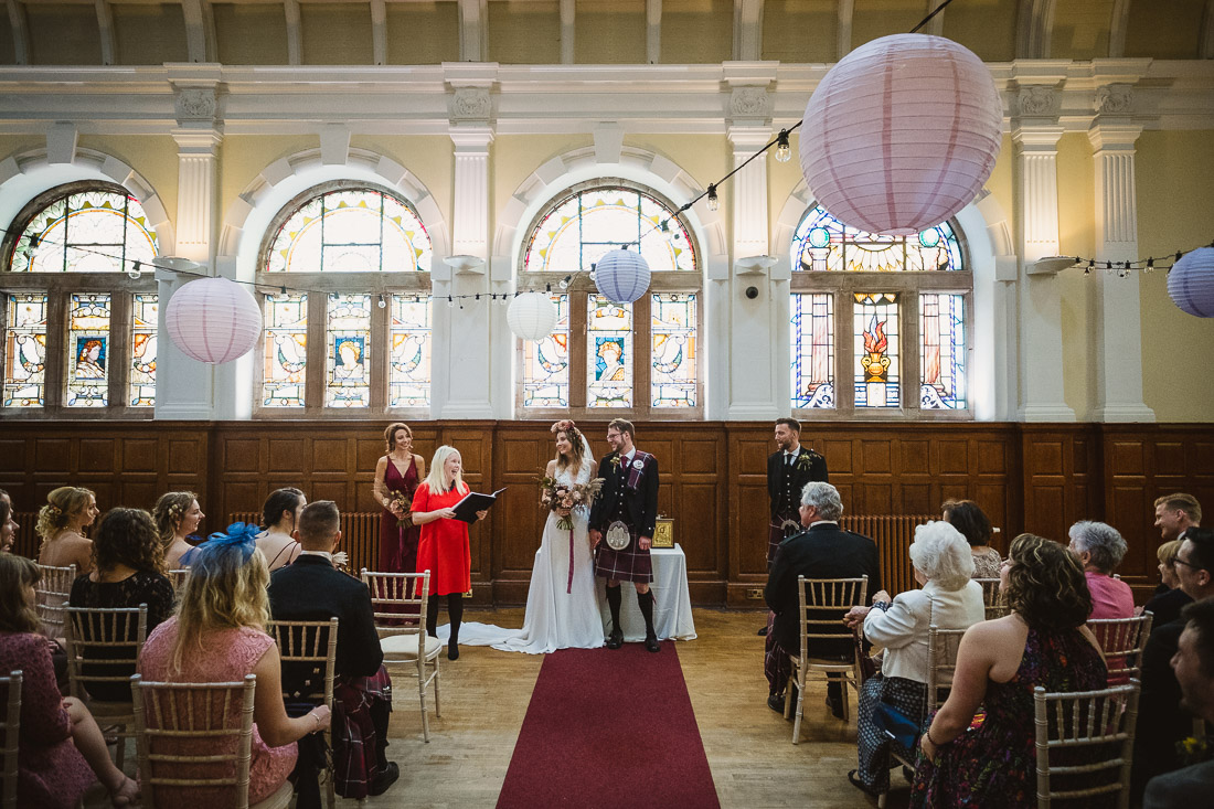 Pollokshields Burgh Hall Wedding