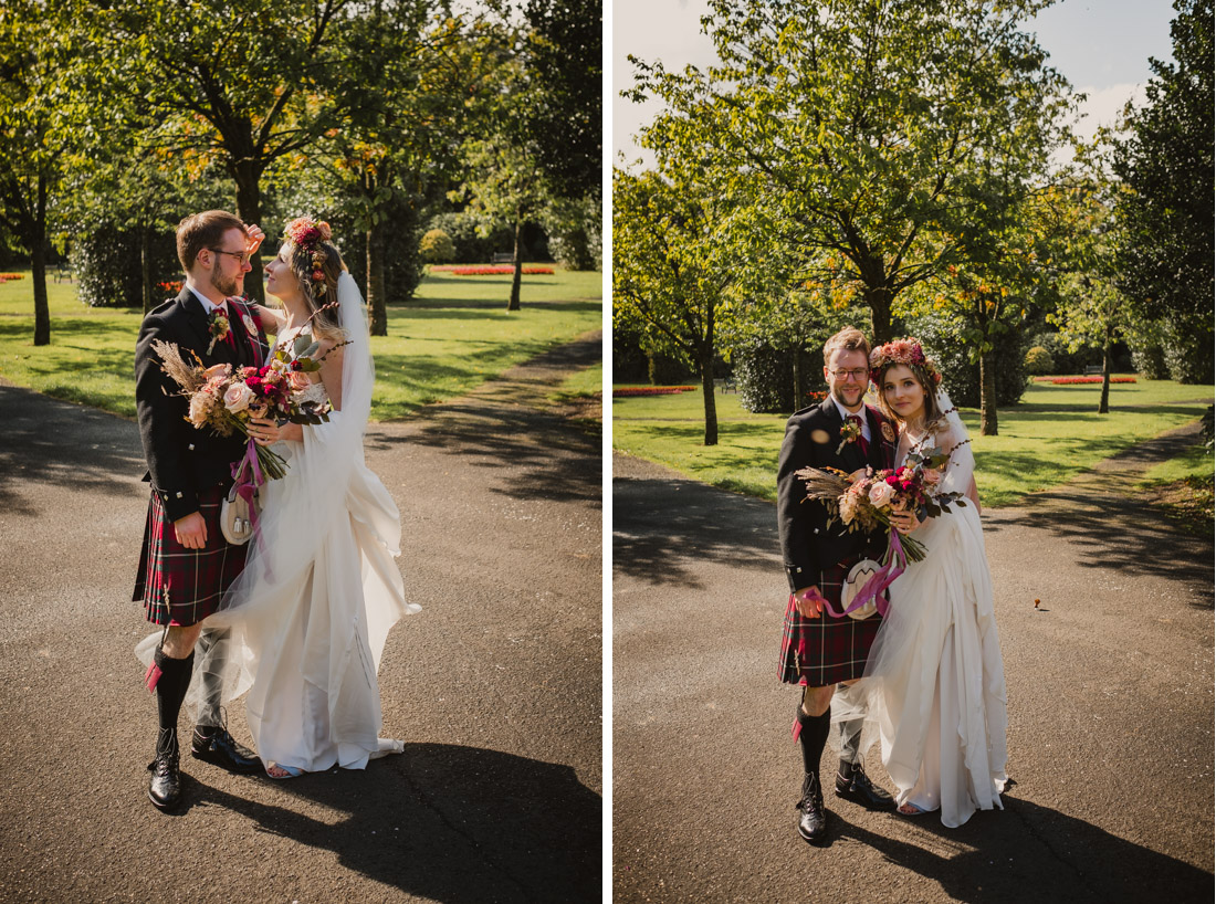 Maxwell Park Wedding Photographs