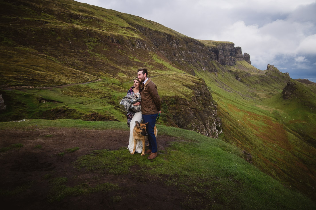 Isle of Skye Elopement Wedding