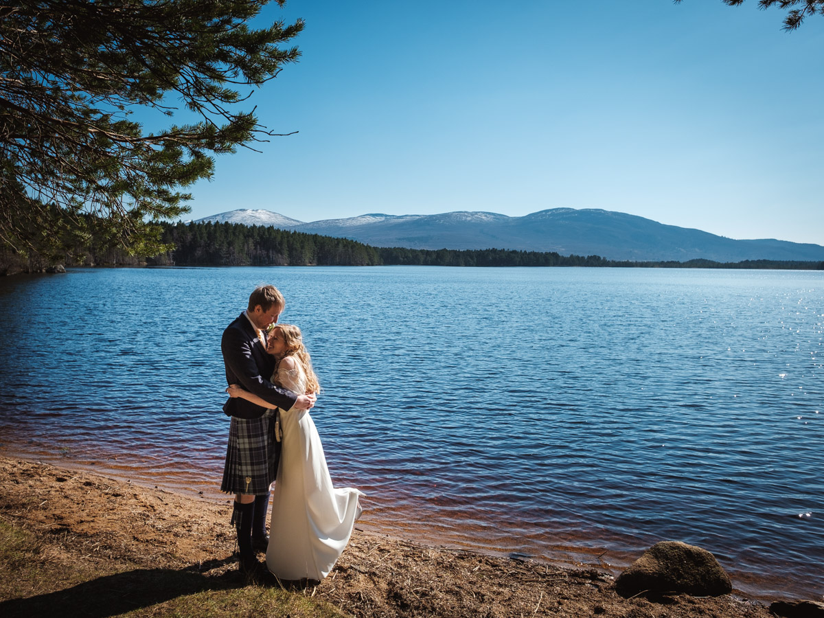 Big Husky Lodge Wedding Aviemore