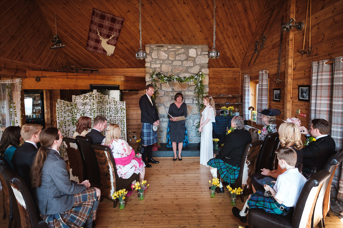 Big Husky Lodge Wedding