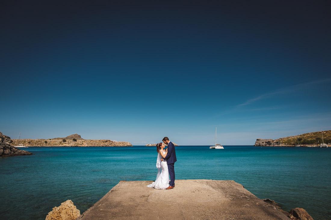 Rhodes Destination Wedding Lindos
