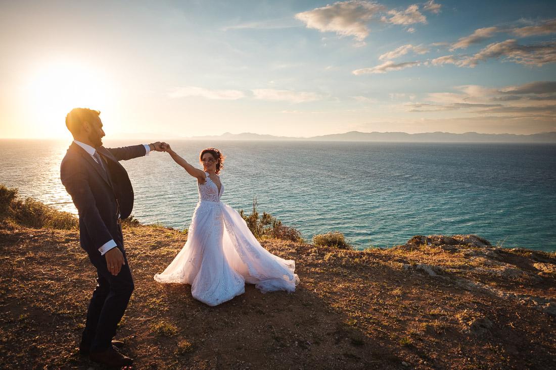 Rhodes Destination Wedding Sunset Monte Smith