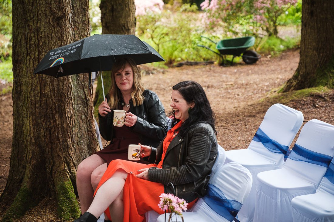 Arisaig Woodland Wedding
