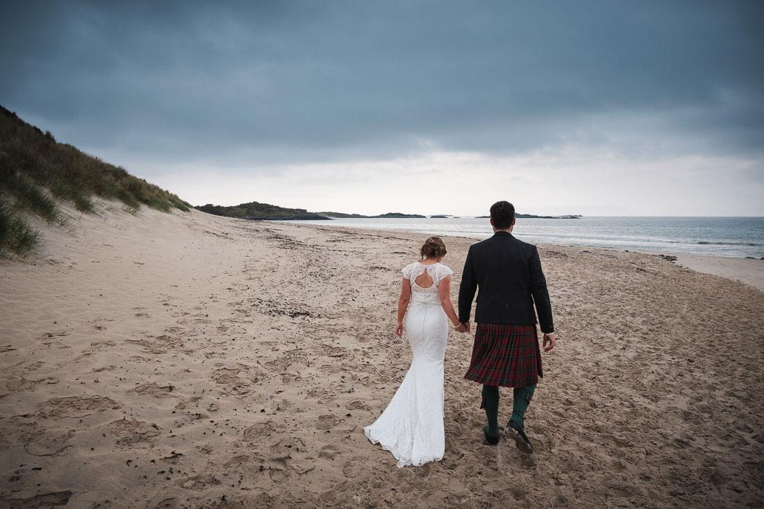Arisaig Woodland Wedding Arisaig Beach
