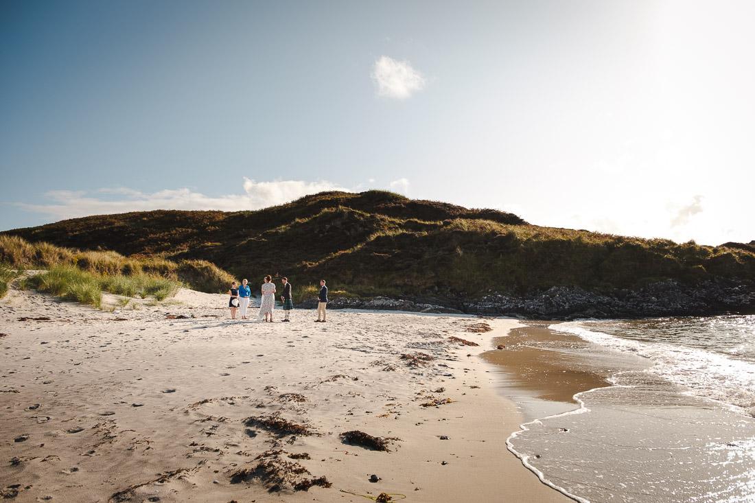 Camusdarach Beach Wedding