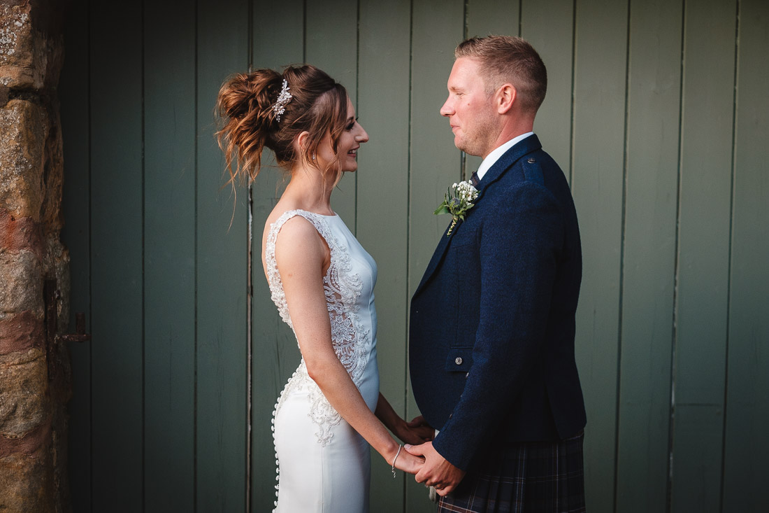 Cow Shed Crail Wedding
