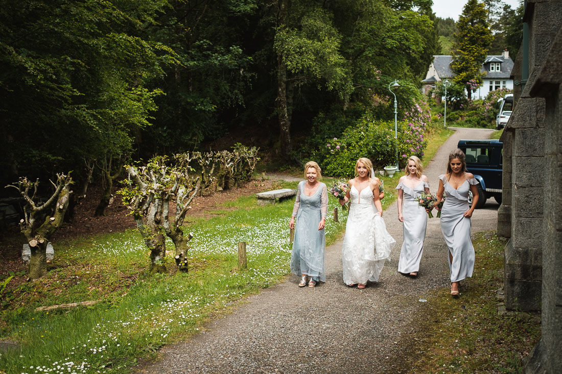 Glenfinnan Church Wedding