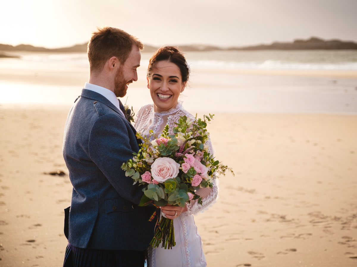 Arisaig Wedding Photographs Zahra and Angus