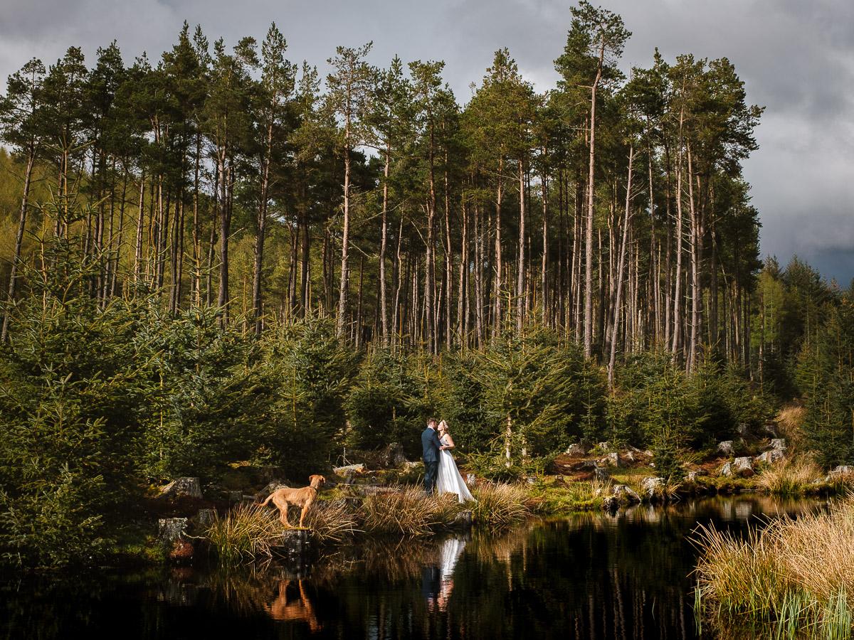 Glenshee Riverside Wedding