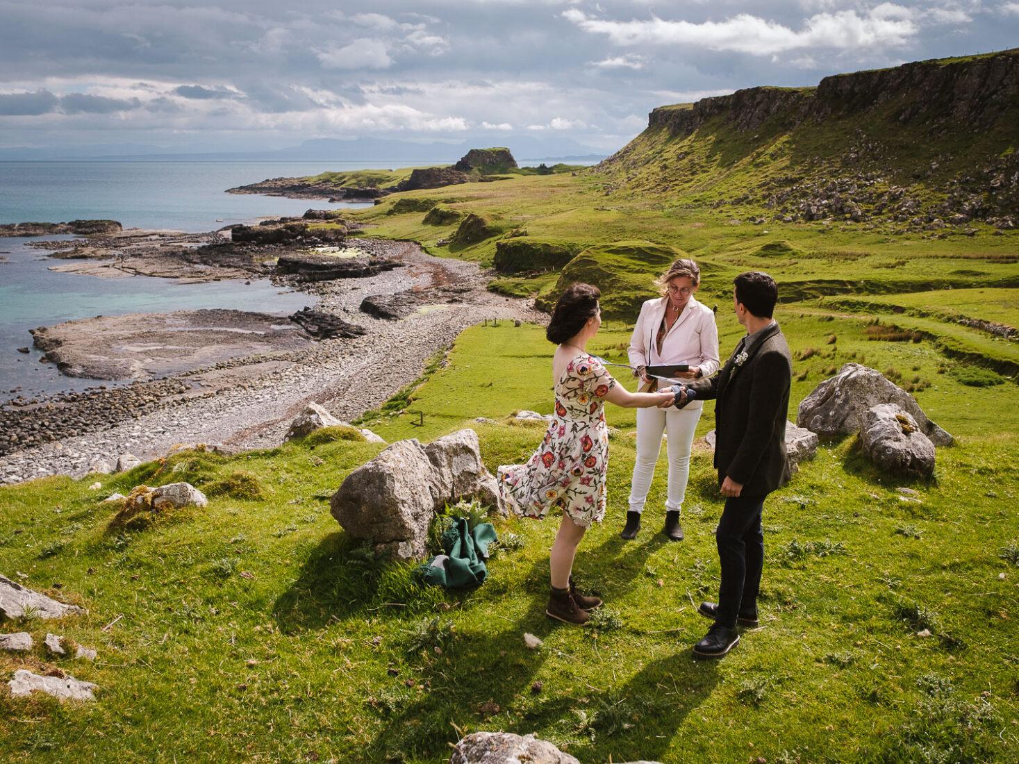 Romantic Isle of Skye Elopement
